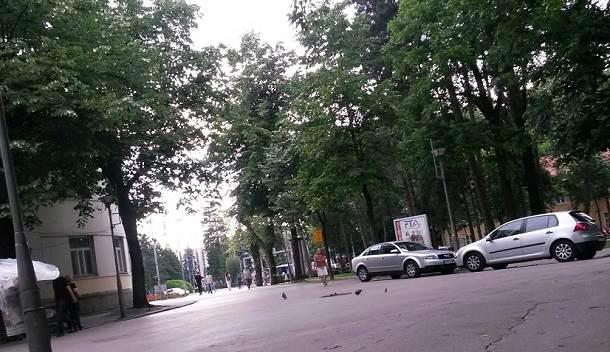 Banjaluka, parking, pješačka zona, Komunalna policija