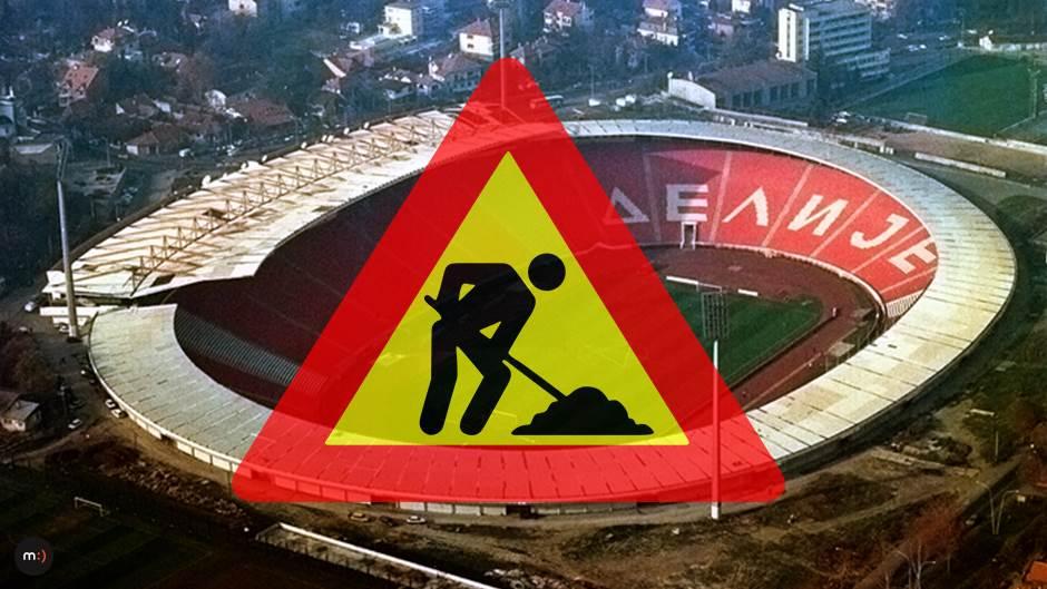 stadion FK Crvena zvezda Marakana Rajko Mitić