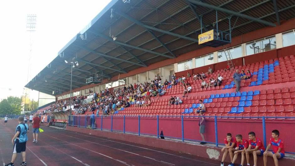 Gradski stadion, tribine