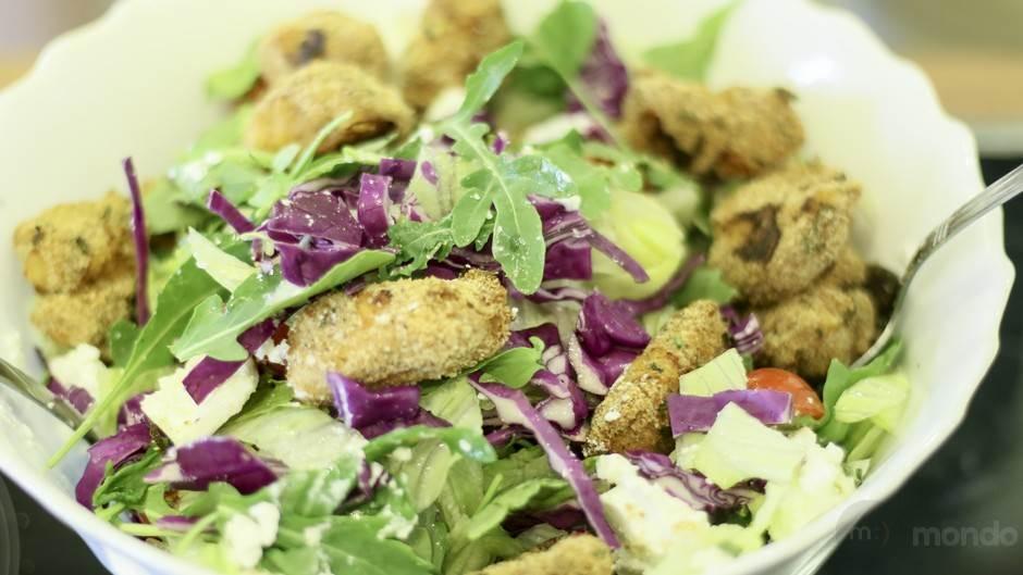 mondo kuhinja, salata, ćuretina, obrok