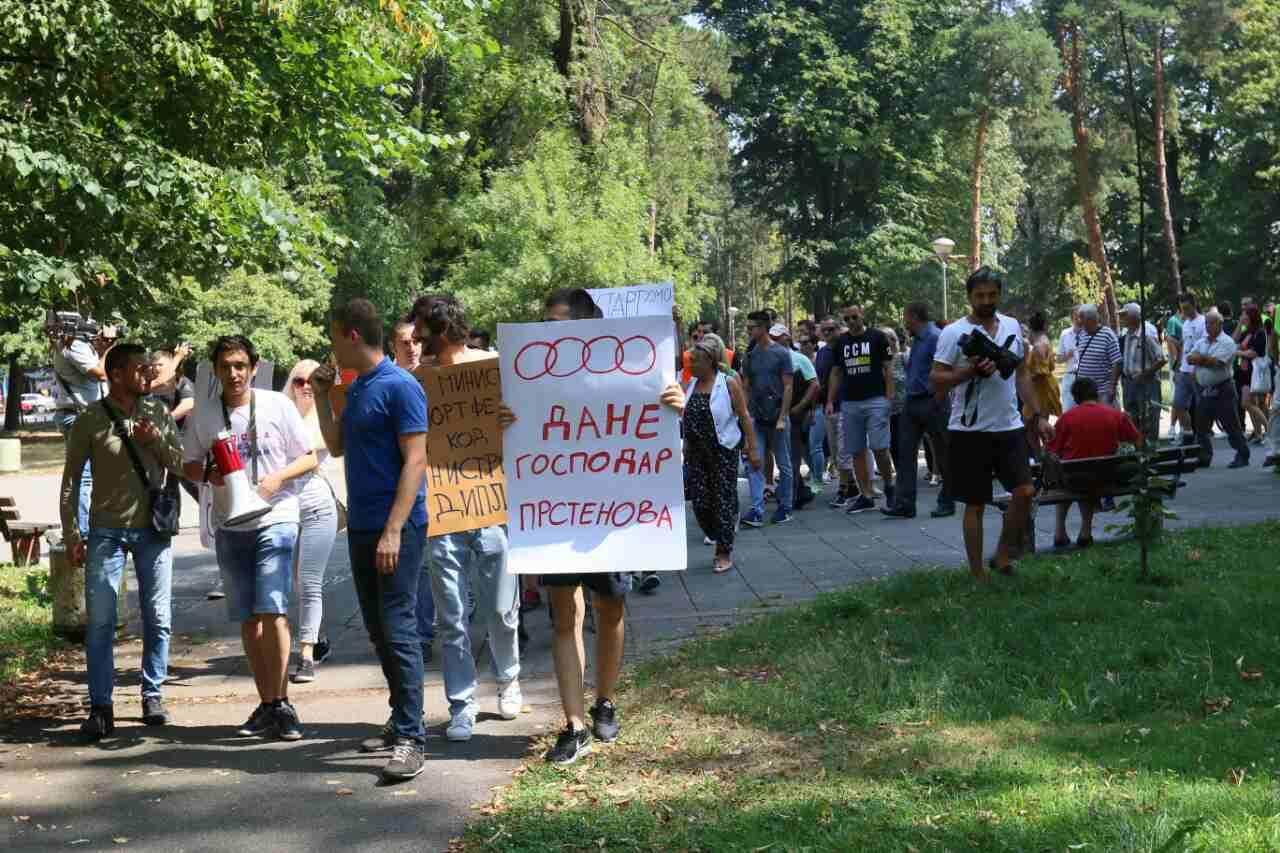 protesti, restart srpska