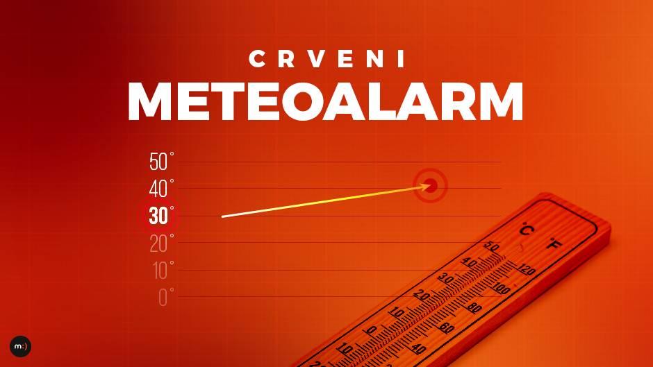 vreme, vrućina, vrućine, meteoalarm, crveni meteoalarm