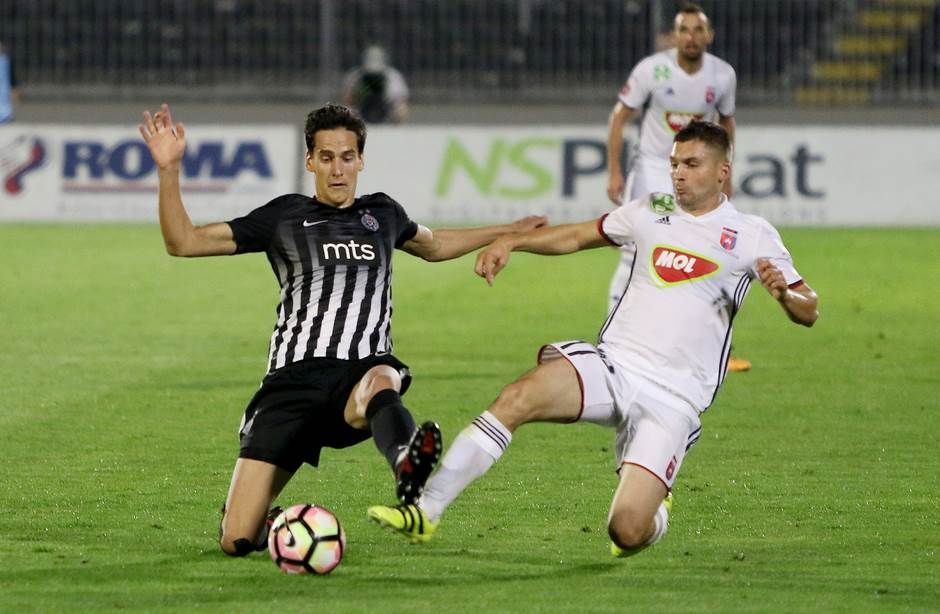 Partizan, Videoton, Marko Jevtović