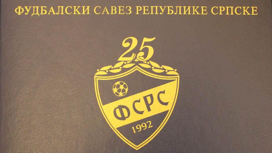 Fudbalski savez Republike Srpske, proslava 25 godina