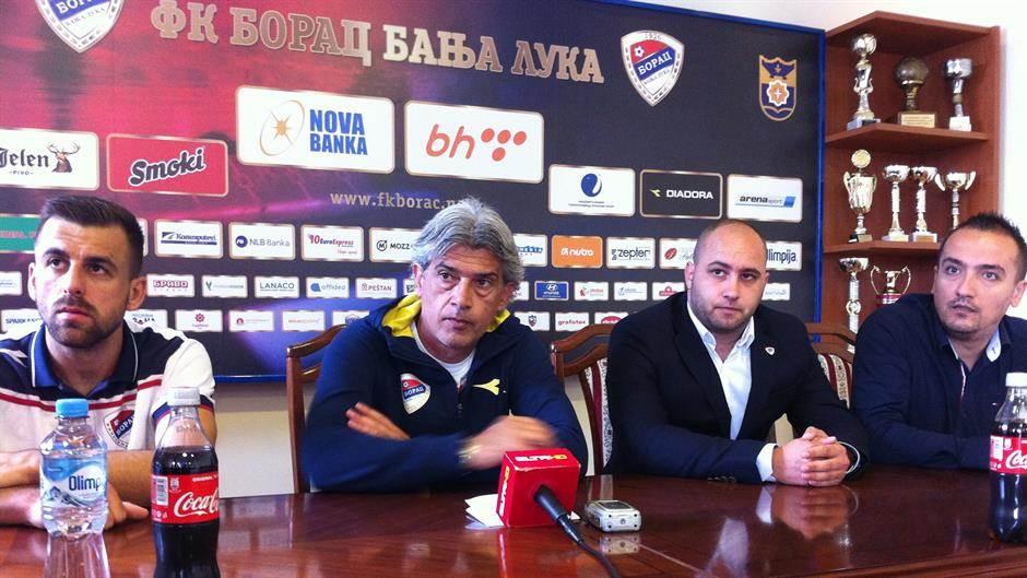 FK Borac, Milinković, Borac