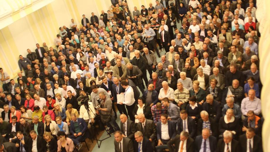 Skupština naroda, Banjaluka, opozicija