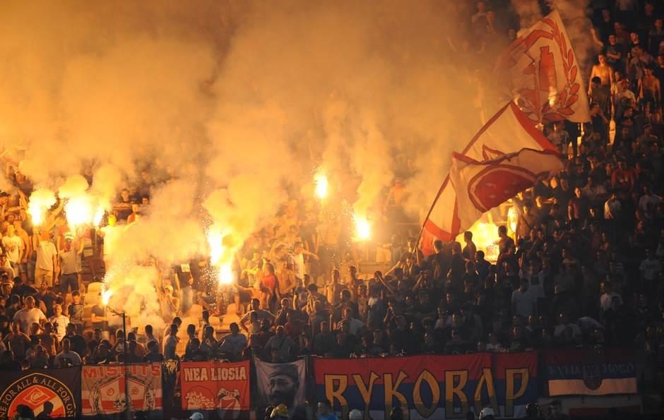 Delije navijači FK Crvena zvezda
