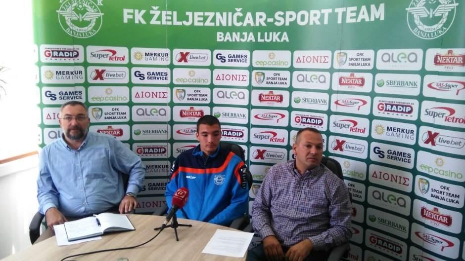 Jovan Vladimir Pavlović, Željezničar Sport tim, Sport Team