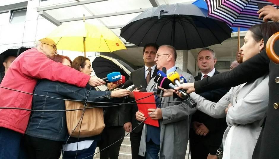 Savez za promjene, Vukota Govedarica, Dragan Čavić, SDS, PDP, NDP
