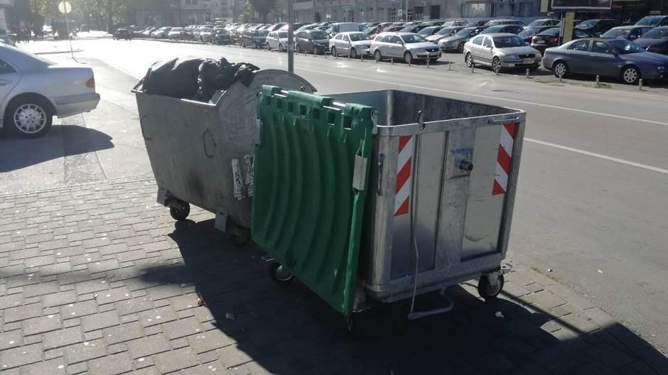 kontejner, smeće