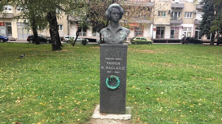 Vahida Maglajlić, trg heroja