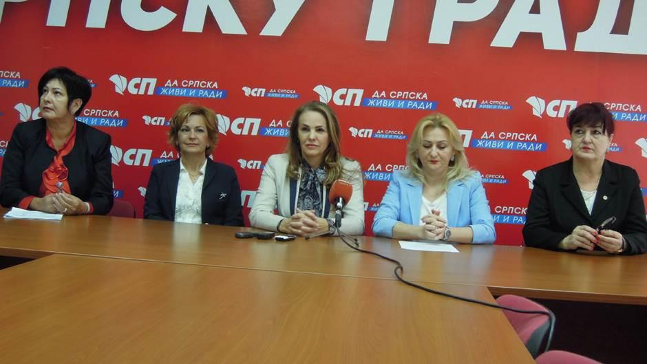Socijalistička partija, aktiv žena