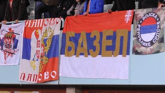 Austrija Srbija navijači