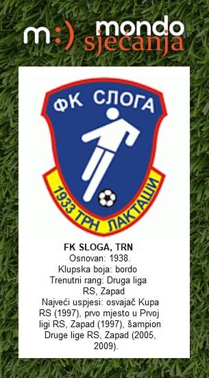 FK Sloga Trn, Mondo sjećanja