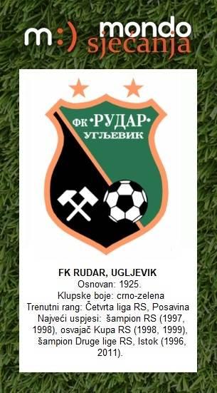 FK Rudar Ugljevik, Mondo sjećanja