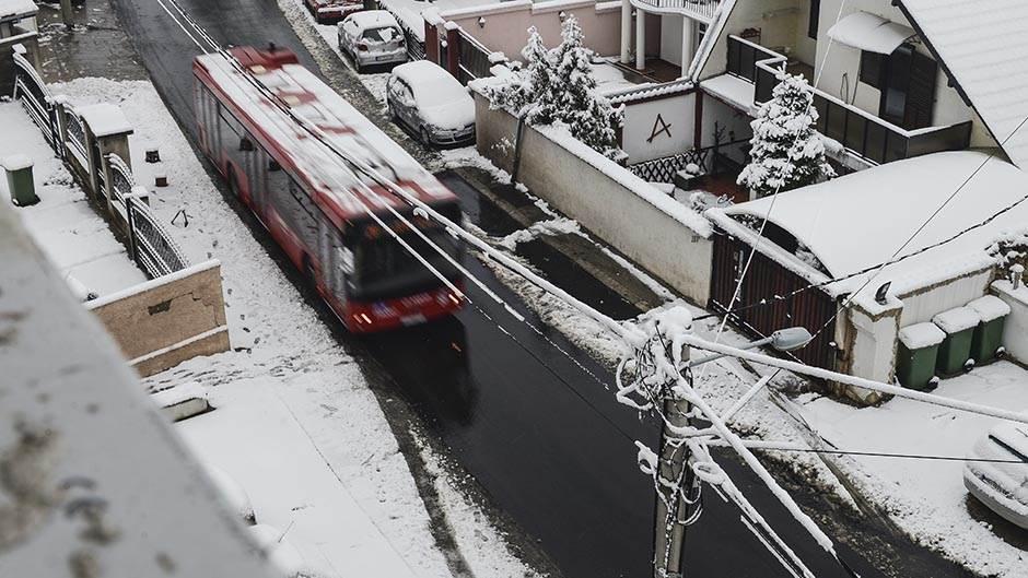 Snježni pokrivač zabijelio Balkan (FOTO)