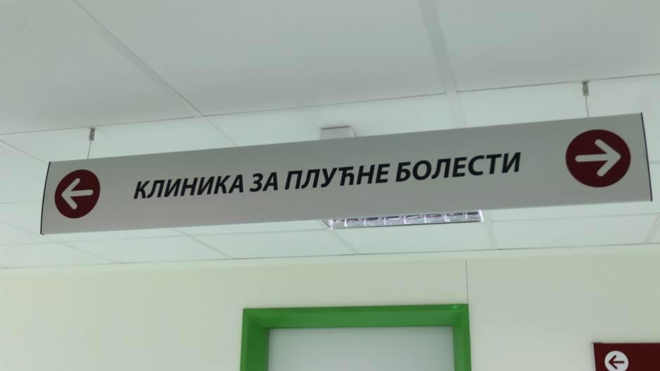 UKC, bolnica, klinika za plućne bolesti
