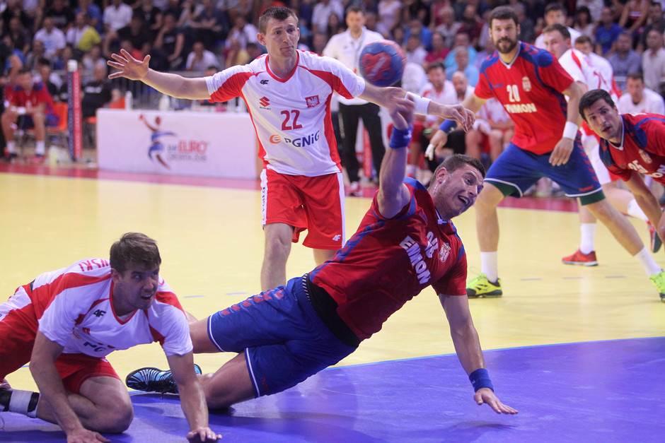 Evropsko prvenstvo: Za početak Hrvatska - Srbija