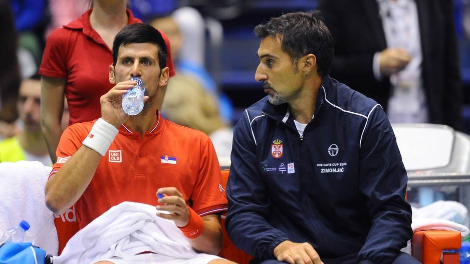 Novak Đoković i Nenad Zimonjić