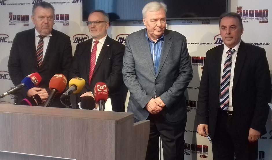 Neđo Trninić, Dane Malešević, Marko Pavić, Đorđo Krčmar