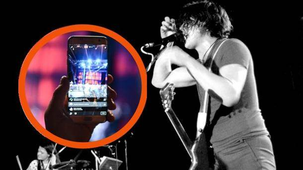 white stripes, džek, mobilni telefon, koncert