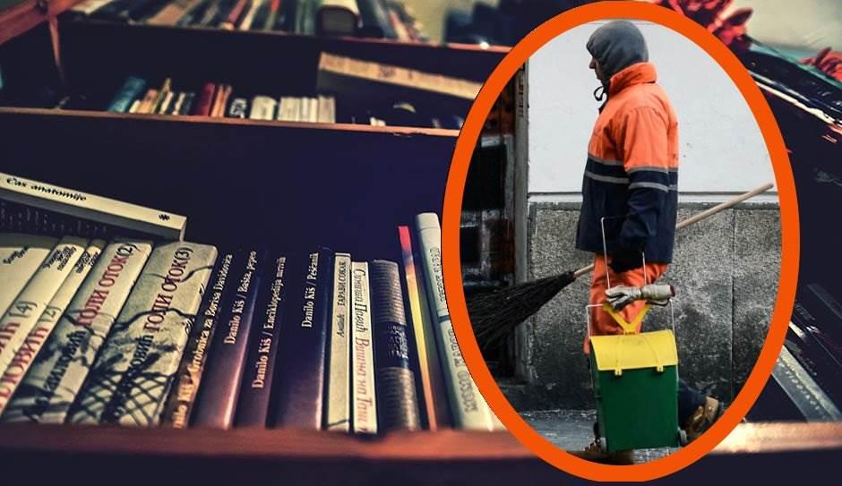 Đubretari napravili biblioteku iz kontejnera!
