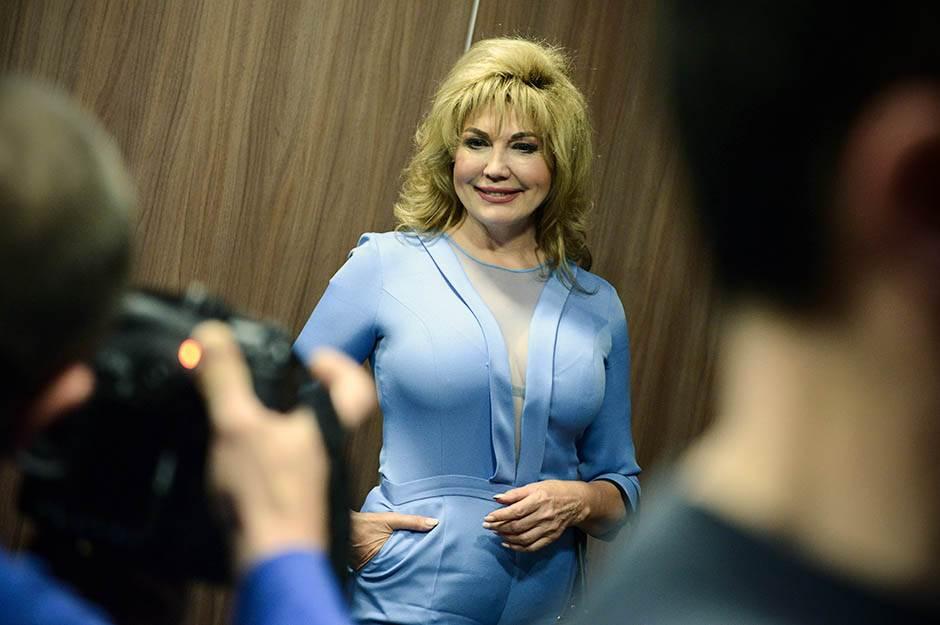 Suzana Mančić, promocija knjige, poznati