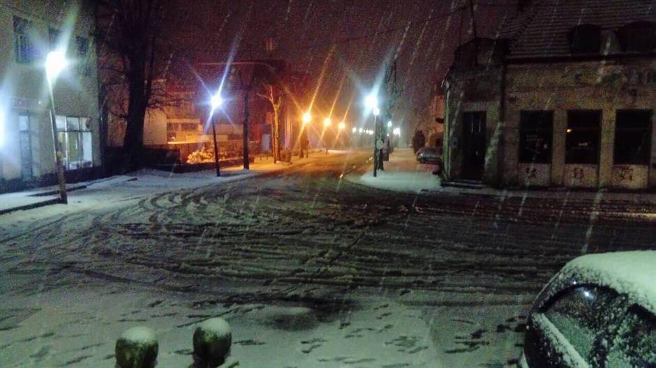 snijeg, prijedor