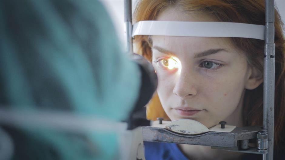 klinika svjetlost, oči, pregled, doktor, oftamologija