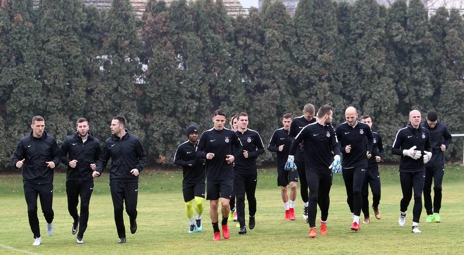 Teleoptik trening FK Partizan