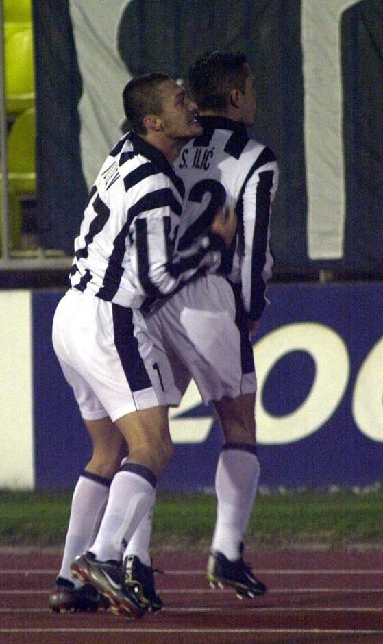 Saša Ilić i Ivica Iliev - prvi i dalje nosi kapitensku traku, dok je drugi sportski direktor Partizana.