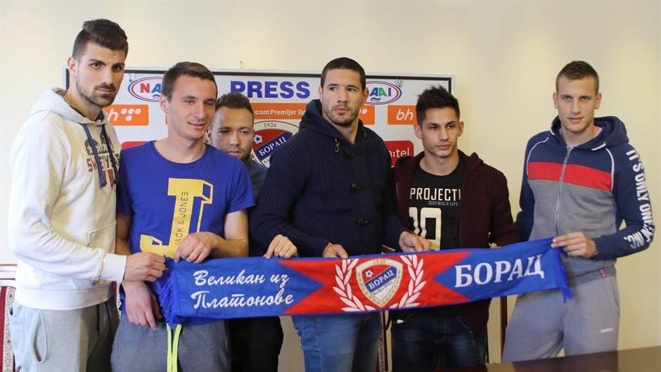 FK Borac pojačanja februar 2016.