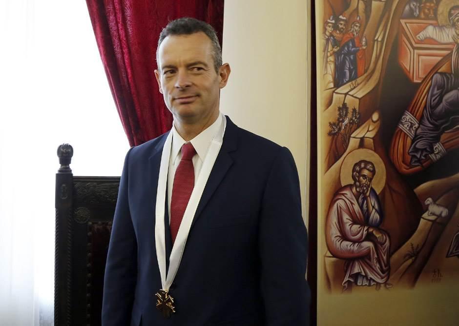 Marinos Ritsoudis, Grk, NATO, bombardovanje, heroj