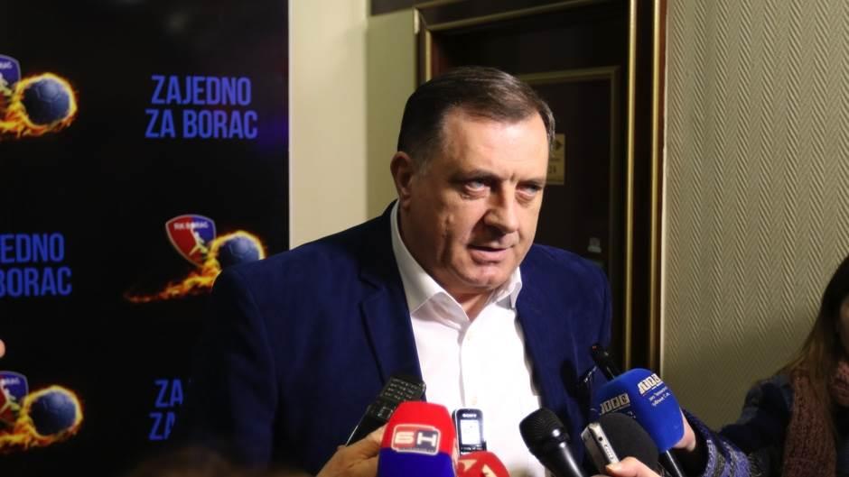Donatorsko veče RK Borac m:tel 2018 Milorad Dodik