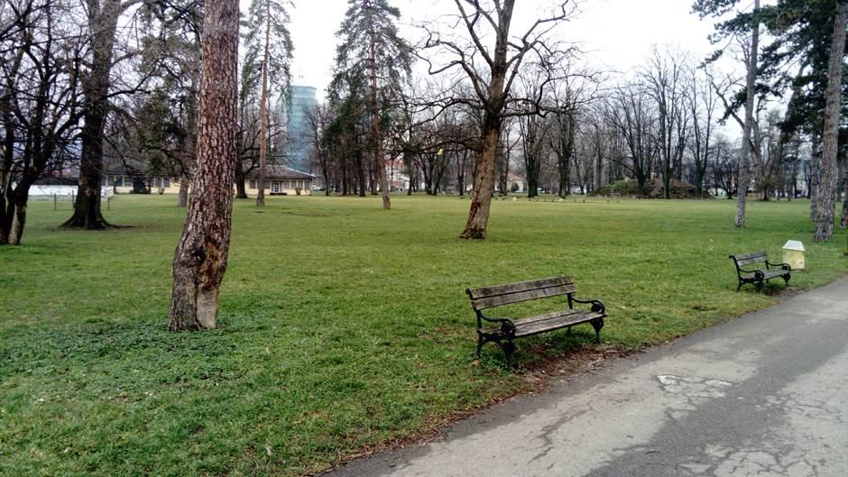 park, park mladen stojanović