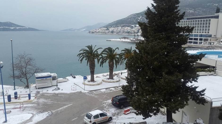 Neum, snijeg u Neumu