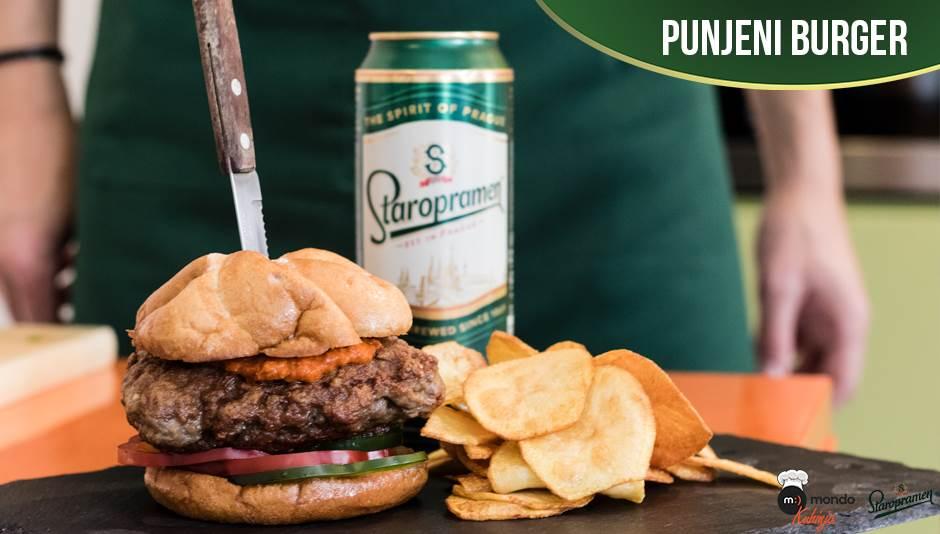 burger, mondo kuhinja, staropramen