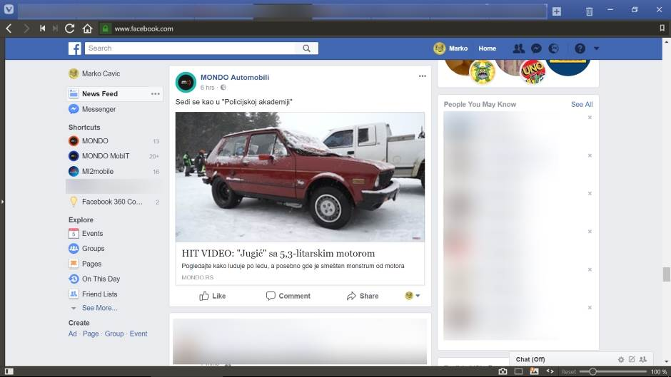 Facebook: Vraćen stari News Feed složen hronološki