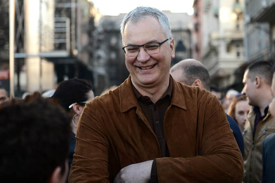 dragan šutanovac, saša janković, miting, izbori 2017, trg republike,