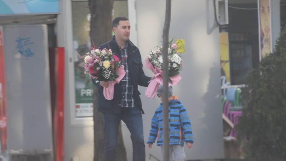8. mart, dan žena, cvijeće, Banjaluka
