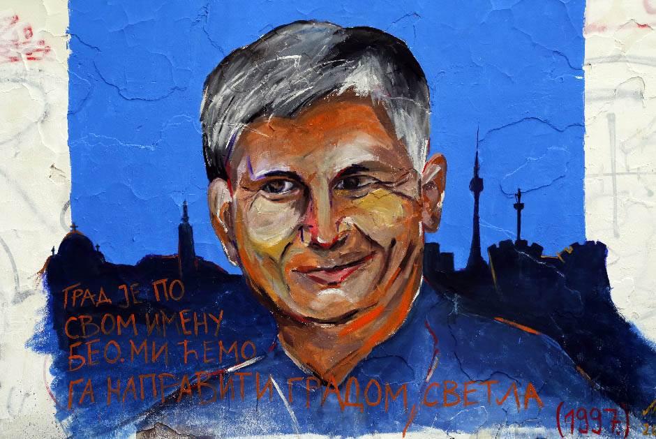 mural, zoran đinđić