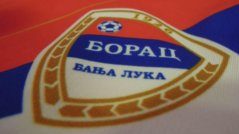 FK Borac logo, dres, grb