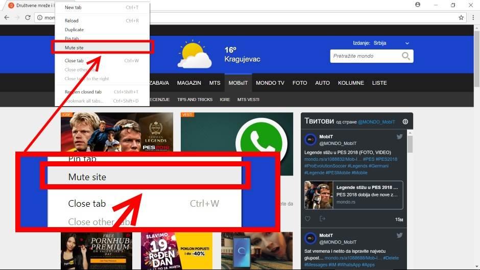 Uključite novu Chrome opciju, pomoći će vam