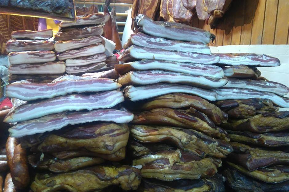 slanina slaninica suhomesnato meso mesara slaninijada