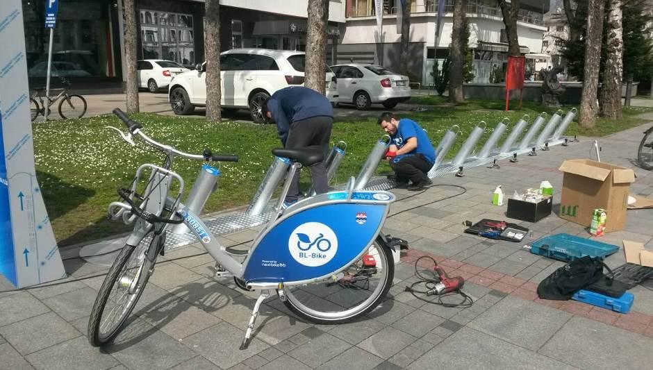 "Prvi ""BL Bike"" stigao u centar grada FOTO"