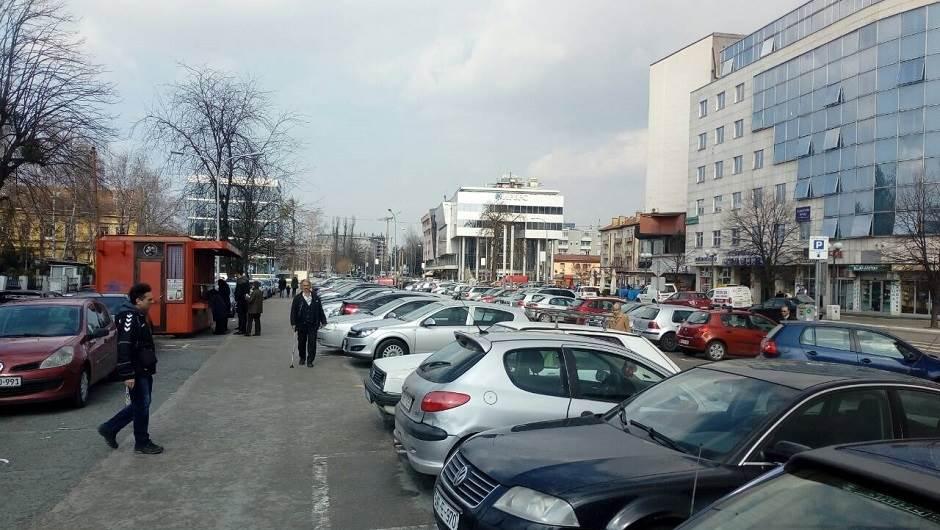 parking, stara autobuska stanica
