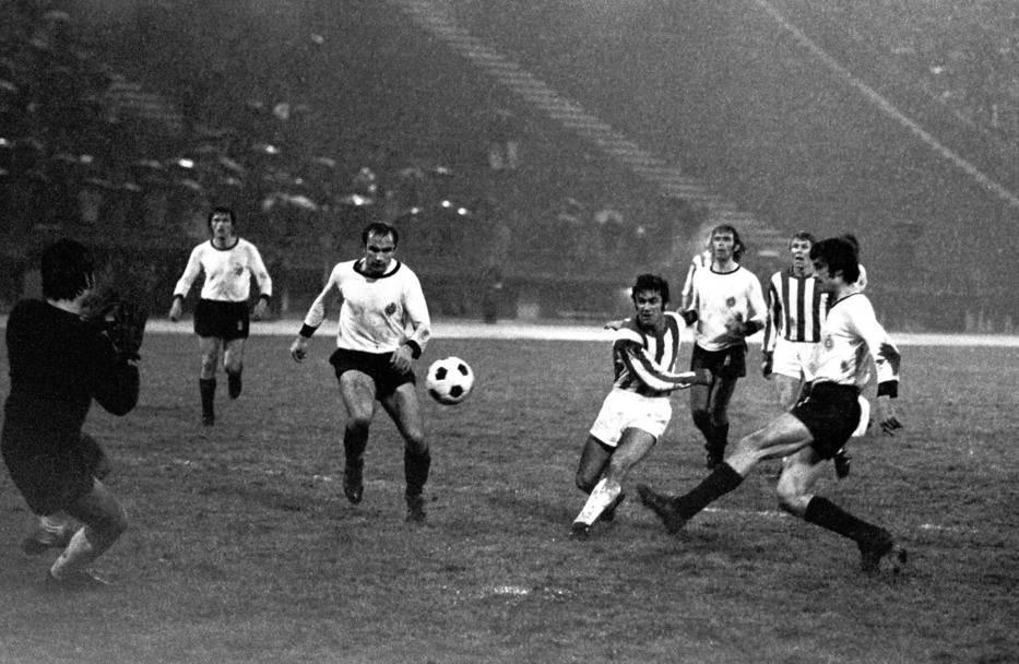 Duel Crvene zvezde i Partizana iz 1973. godine (4:3 za crveno-bele)