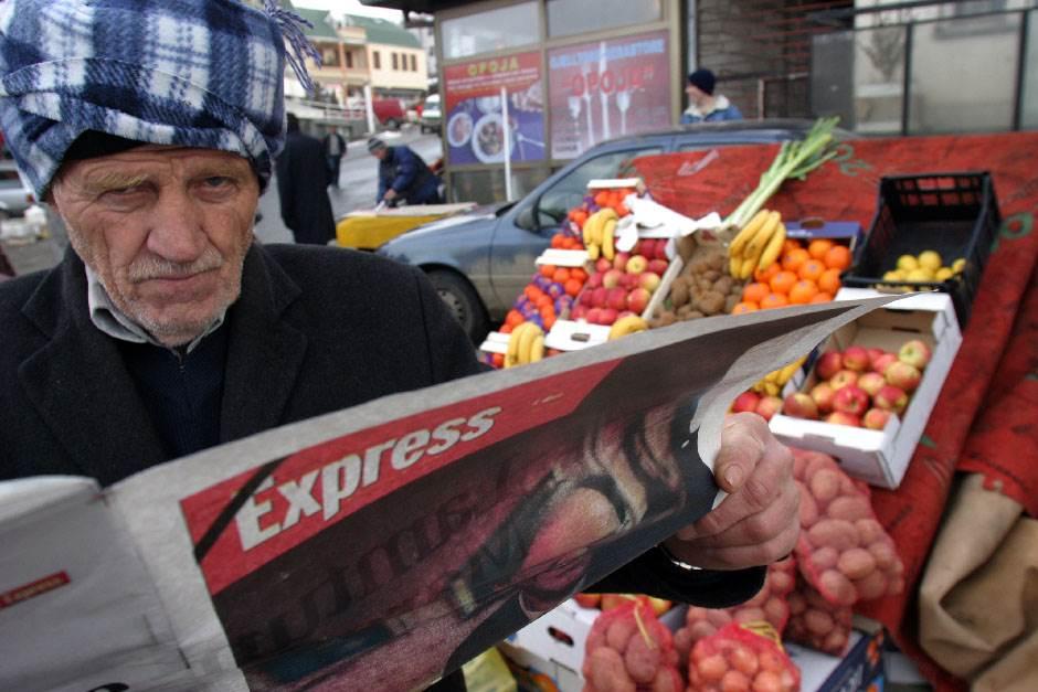 kosovo, albanac, kosovski mediji, novine