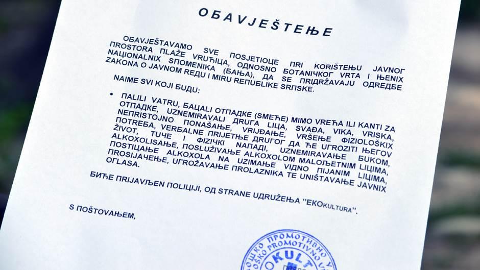 Banjalučka atrakcija: Vrućica dobila kaskade FOTO