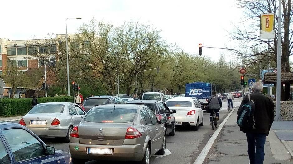 Gužve u Banjaluci zbog radova na saobraćajnicama